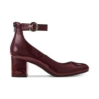 أشعيا المرأة الفاني أغلقت حزام الكاحل إصبع القدم مضخات الكلاسيكية