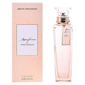 Naisten tuoksu;s Hajusteiden Agua Fresca Rosas Blancas Adolfo Dominguez EDT/120 ml