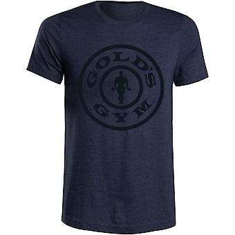 Gold's Gym Weight Plate T-Shirt - Navy