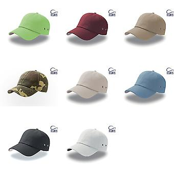 Atlantis toimi 6 Panel Chino Baseball Cap (pakkaus 2)