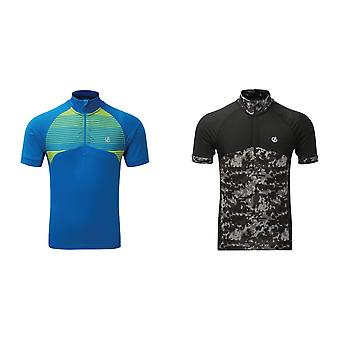 Dare 2B Mens Stay The Course Half Zip Cycling Jersey