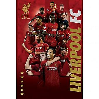 Liverpool FC 38 Players Poster