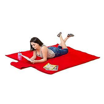 Rojo impermeable XXL manta grande picnic tirar al aire libre jardín barbacoa viaje alfombra