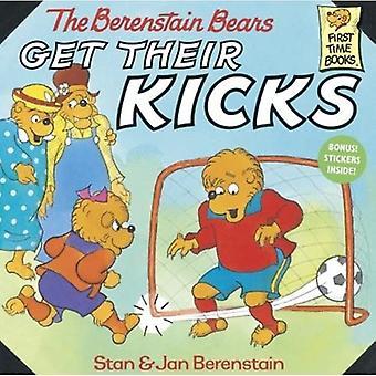 Berenstain Bears Get Their Kicks (Berenstain Bears First Time Chapter Books)