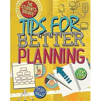 Caja de herramientas del estudiante: consejos para una mejor planificación