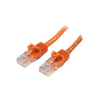 Startech 5M Orange Snagless Cat5E Patch Cable