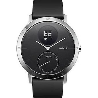 Withings - Activity Tracker - STEEL HR - black - HWA03B-40BLACK-ALL-INTER-W2-