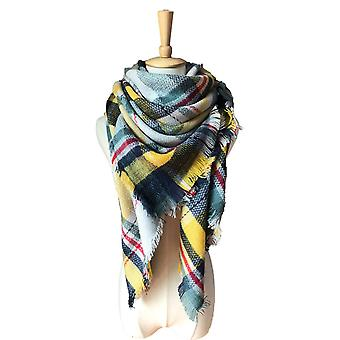 Tartan plaid foulards