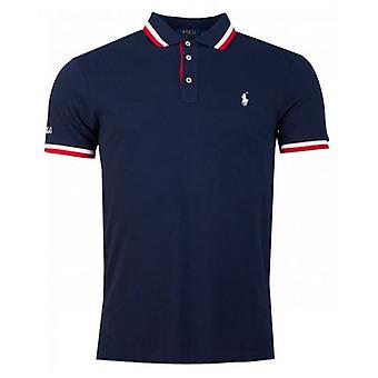 Polo Ralph Lauren gekippt Kragen Mesh Polo Shirt