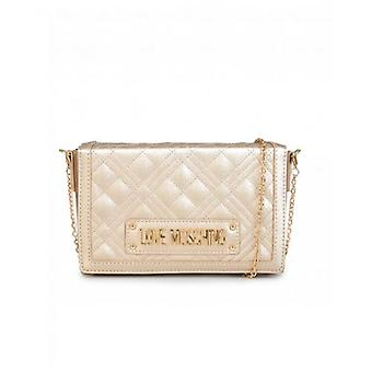 Love Moschino Accessories Quilted Logo Clutch Bag
