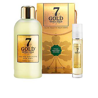 Luxana Seven Gold Set 2 Pz For Men