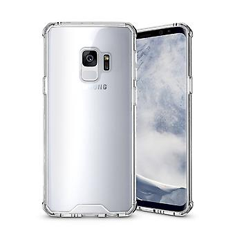 For Samsung Galaxy S9 Back Case,Shockproof High-Quality Transparent Armour Cover