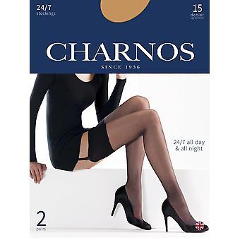 Charnos 24/7 15 Denier kousen 2 paar Pack