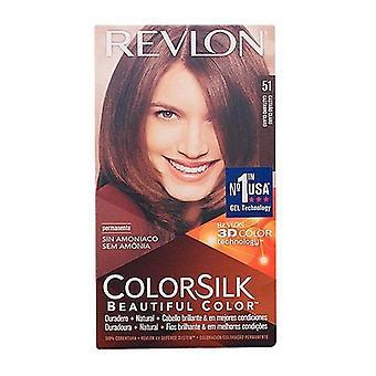 Colorier No Ammonia Colorsilk Revlon Brun clair