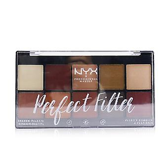 NYX Perfect Filter Shadow Palette - # Rustic Antique 10x1.77g/0.06oz