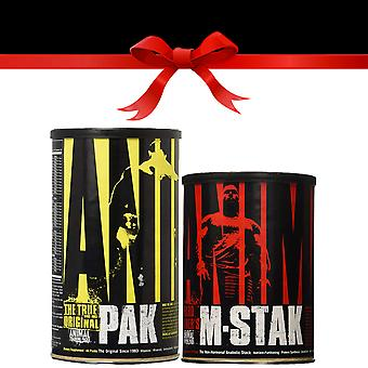 Universal Nutrition Ultimate Hard Gainer's Stack - Choice of Free Gift!