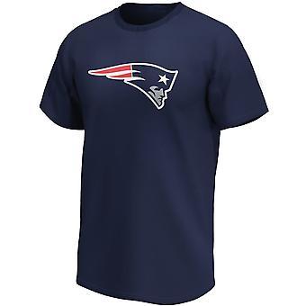 New England Patriots NFL Fan Shirt Iconic Logo navy