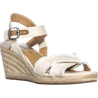 Lucky Brand Womens Maraline tissu Open Toe sandales à plateforme Casual
