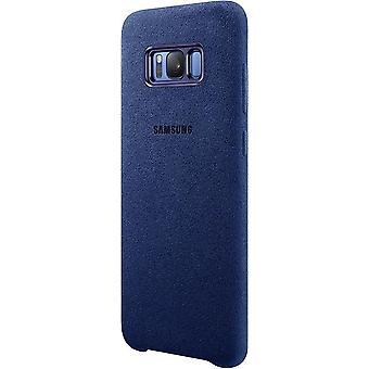 Samsung Alcantara Cover EF-XG955 for G955F S8 Plus blue