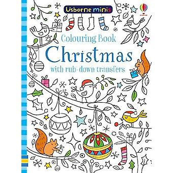 Colouring Book Christmas with Rub-Down Transfers by Sam Smith - 97814