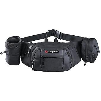 Caribee Roadrunner Bum Bag/Waist Pack - Black
