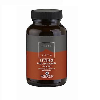 Terranova Living Multivitamin Man Caps 100 (T1469)
