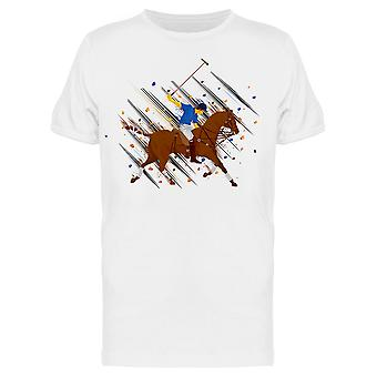 Polo Horse Player Tee Men's -Image di Shutterstock