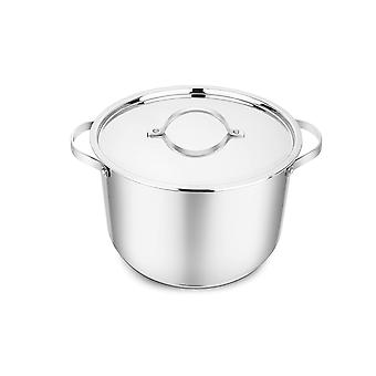 Penguin Home - Professional Induction-Safe Stainless Steel Stock Pot with Lid