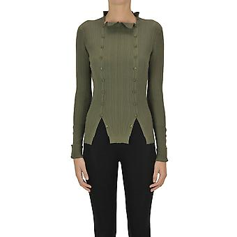Jacquemus Ezgl240012 Women's Green Viscose Sweater