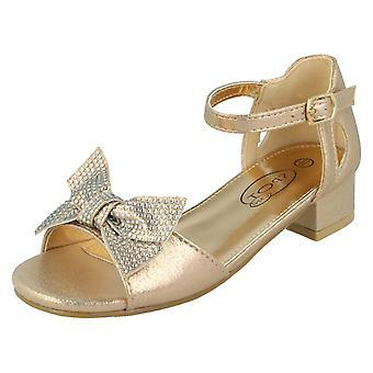 Piger Spot På Mid Heel Sandaler