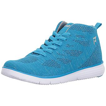 Propét Womens travelfit hi Fabric Low Top Lace Up Fashion Sneakers