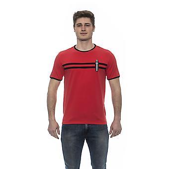 Karl Lagerfeld Rosso Red T-Shirt KA679475-L