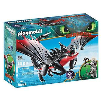 Playset Dragons - Grimmel's Deathgrippers Playmobil 70039 (11 pcs)