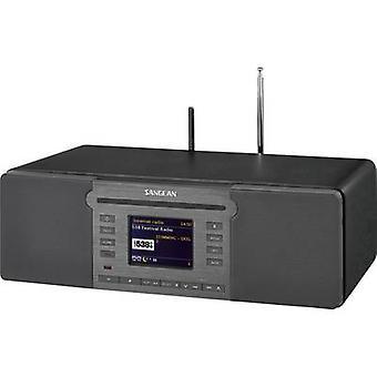 Sangean Revery R6 Internet radio CD player DAB+, FM AUX, Bluetooth, CD, NFC, SD, USB, Wi-Fi, Internet radio Negru