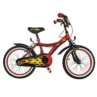 Cosmic Kids Robo 16 Inch Bicycle Cycle Bike Velocipede Single Speed Steel Wheels