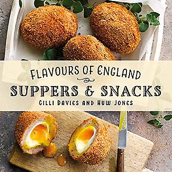 Flavours of England - Suppers & Snacks by Gilli Davies - 978191265