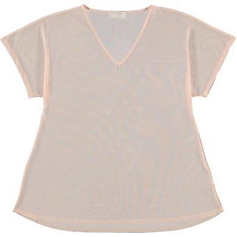 Golddigga Mesh Cover Up T-Shirt Ladies