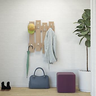 Zaun Farbe Holzmäntel in Melaminisch 64x3,2x81 cm