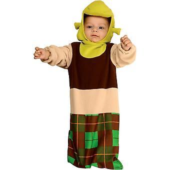 Shrek lapsen puku