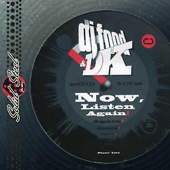 DJ Food & Dk - Now Listen Again [CD] USA import
