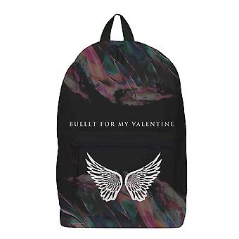Bullet For My Valentine Backpack Bag Wings  Band Logo new Official Rocksax Black
