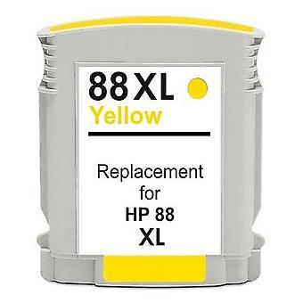 RudyTwos-Ersatz für HP 88XL Tintenpatrone gelb kompatibel mit Officejet Pro K550 K550dtn K550dtwn, K5300, K5400, K5400dn, K5400dtn, K5400n, K8600, K8600dn, L7000, L7400, L7480, L7500, L7550,