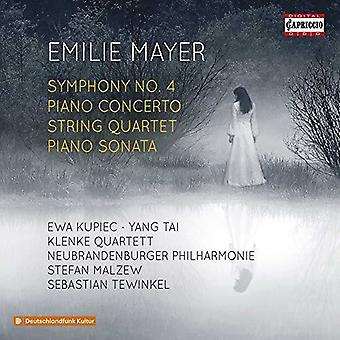 Mayer / Kupiec / Klenke Quartett - Emilie Mayer [CD] USA import