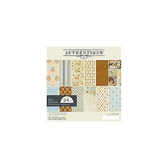 Authentique Abundant 6x6 Inch Paper Pad
