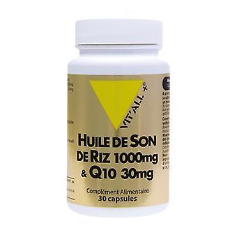 Rice Bran Oil + Q10 1000 mg 30 capsules of 1000mg