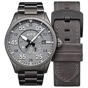 Spitfire Japanese Automatic Analog Men's Watch with AV-4073-44 Stainless Steel Bracelet