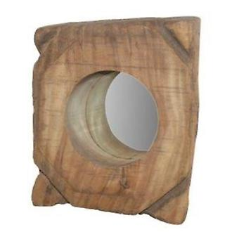Deco4yourhome Wooden Mirror