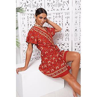 Rimini Floral Wrap Dress