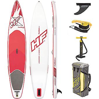 Hydro Force Fastblast Tech SUP Stand Up Paddleboard Set Red 12 ft 6 Inch