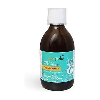 Propolis, Mint & xylitol mouthwash 300 ml
